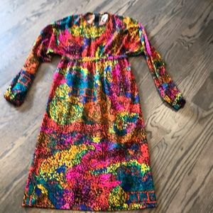 Vintage dress made in Italy